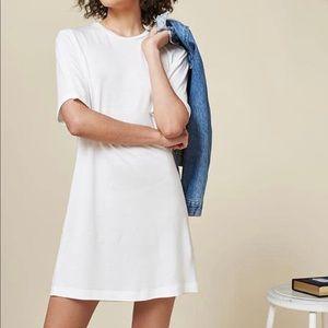 REFORMATION Dozer Dress White NWOT Medium